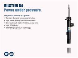 Bilstein Shocks - Bilstein Shocks 19-139333 B4 Series OE Replacement Shock Absorber