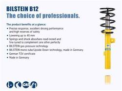 Bilstein Shocks - Bilstein Shocks 46-000637 B12 Series Pro Kit Lowering Kit