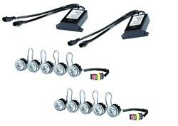 Hella - Hella 010458811 LED Day Flex Running Light Kit