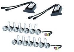 Hella - Hella 010458851 LED Day Flex Running Light Kit