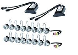 Hella - Hella 010458871 LED Day Flex Running Light Kit