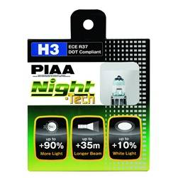 PIAA - PIAA 10703 H3 Night-Tech Replacement Bulb