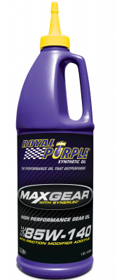 Royal Purple - Max Gear 85w140 Gear Oil