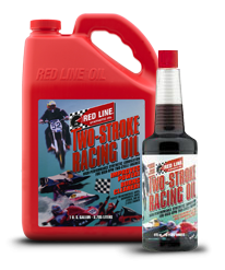 Red Line Synthetic Oil - Two-Stroke Racing Oil - 12/16oz