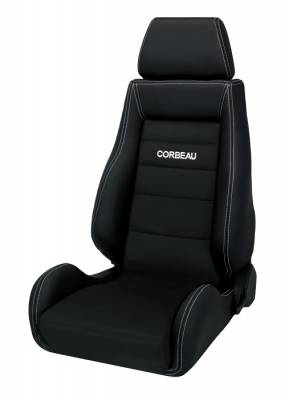 Corbeau - GTS II Black Leather / Microsuede