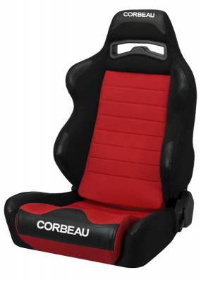 Corbeau - LG1 Black / Red Cloth