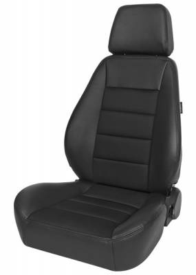 Corbeau - Sport Seat Black Vinyl/Cloth