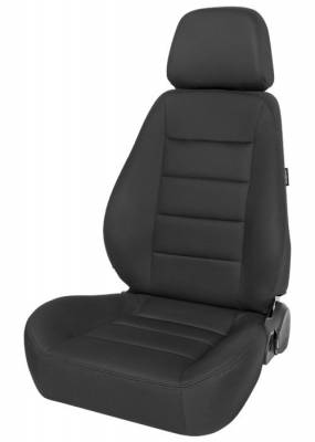 Corbeau - Sport Seat Black Cloth