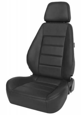 Corbeau - Sport Seat Black Leather