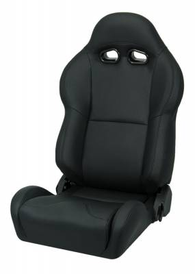 Corbeau - VX2000 Black Leather