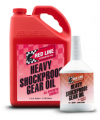 Red Line - Gear Oil - Red Line Synthetic Oil - Heavy ShockProof Gear Oil - 12/1quart