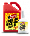 Red Line - Gear Oil - Red Line Synthetic Oil - SuperLight ShockProof Gear Oil - 12/1quart